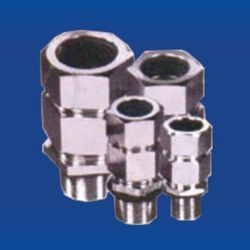 Flameproof Double Compressor Cable Gland