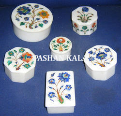 Inlay Marble Boxes