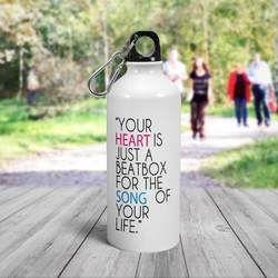 Promotional Aluminum Water Bottles, Custom Printed Customize