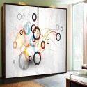 Digital Printed Glass For Wardrobe