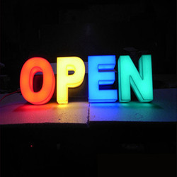 3D Acrylic Letters With RGB Led Light
