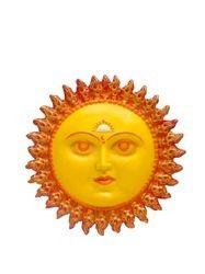 Bright -Yellow -FRP Sun Face Wall Mount