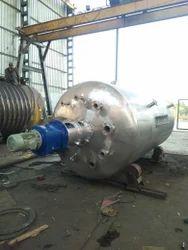High Pressure Stainless Steel Vessel