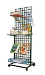 Display Grid Stand For Books And Magazines