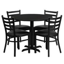 Round Table - Canteen Round Table Manufacturer from Delhi