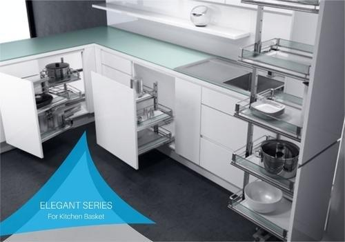 Kitchen Basket Cabinets U0026 Modular Kitchen Architect / Interior Design /  Town Planner From Varanasi