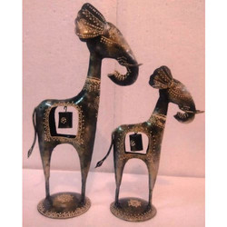 Metal Bell Elephants