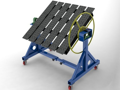 Welding Table Rotary Welding Table Manufacturer From Thane