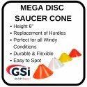 Mega Disc Saucer Cone