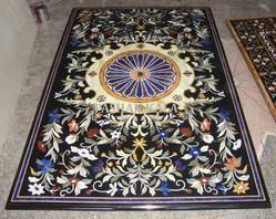 Marble Inlay Dining Table Tops