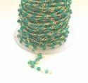 Green Onyx Beaded Chain