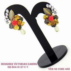 Designer Fancy Victorian Earring