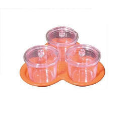 Polycarbonate Jampot Set