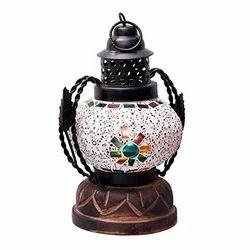 Handmade Glass Real Lantern