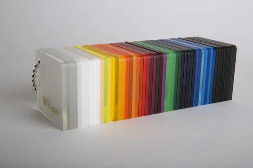 Cast Acrylic Sheet - Colored Acrylic Sheets Exporter from Mumbai