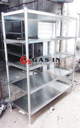 Plate Storage Rack & Storage Racks - S.S Storage Rack Manufacturer from Mumbai