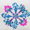 Embroidered Cushion Covers Spiral Throw Pillow