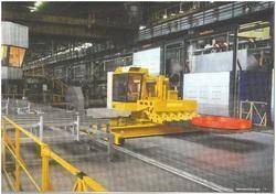 Railbound Furnace Charging Machine