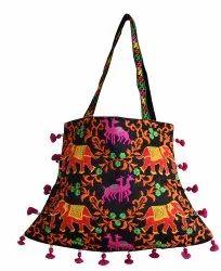 Boho Bag-Traditional Wear Handbag-Women Embroidered Purse