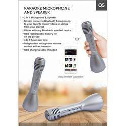 Karaoke Microphone and Speaker