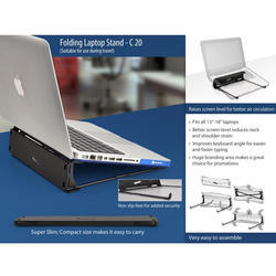 Folding Laptop Stand  (suitable For Travelling)