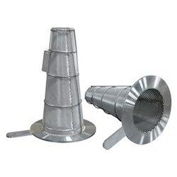 Round Bottom Conical Strainer