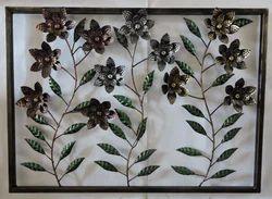 Flower Design Wall Decor