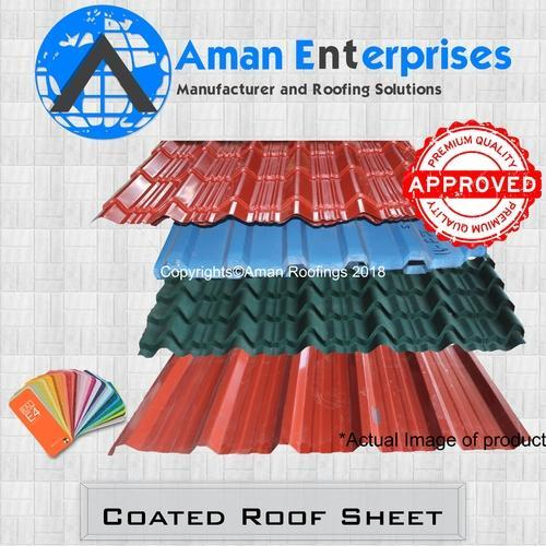 Coated Roof Sheet