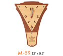 Triangle Dial Wall Clock