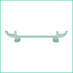 Pole & Plank Holder - Pair ( Brass)