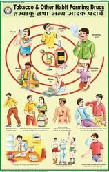 Tobacco & Habit Forming Drugs For Health & Hygiene Chart