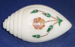 Marble Inlay Paper Weight