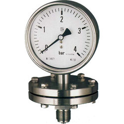 H Guru 100mm All SS Diaphragm Pressure Gauge