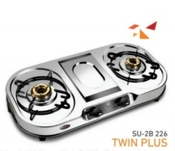 2 Burner Gas Stove SU 2B-226TWIN Plus