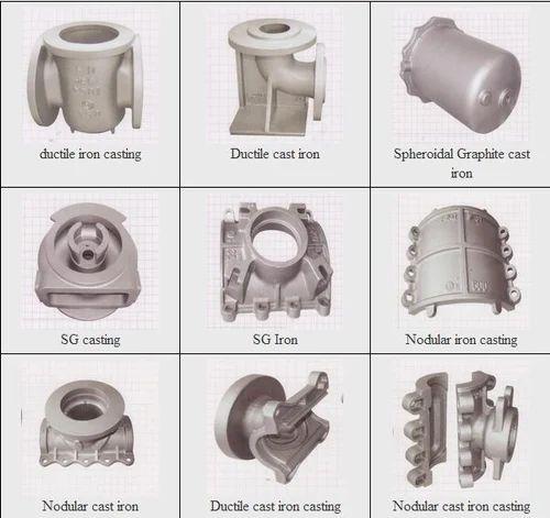 Ductile Iron Spare Parts