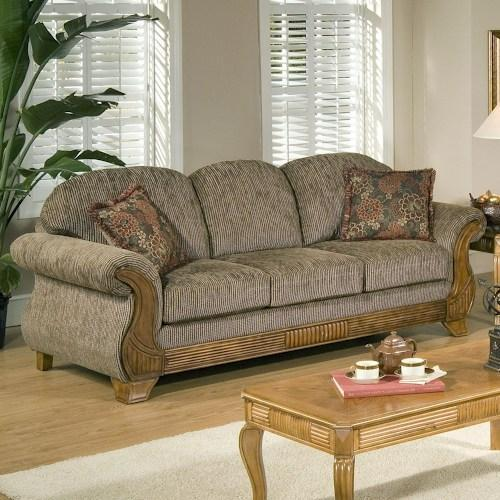 Wooden Traditional Sofa