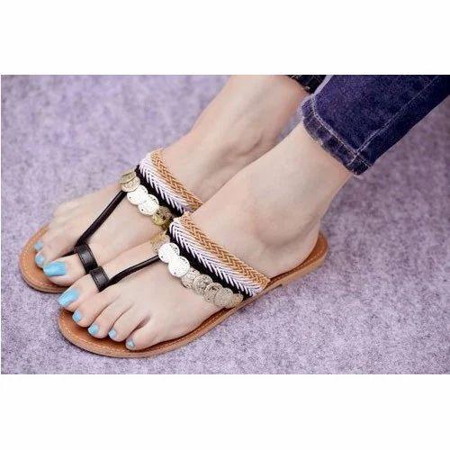 Women Flats Sandal at Rs 250/pair