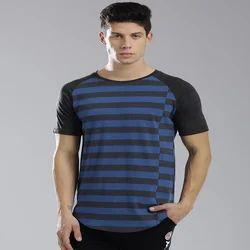 Mens Raglon Sleeve Tees Shirt