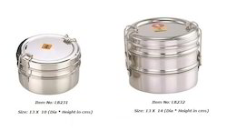 Stackable Round Tiffin Box