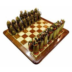 Wooden Maharaja Chess
