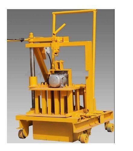 Manual Concrete Block Making Machine - Manual Hollow Block