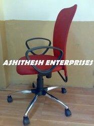 Red Revolving Chair