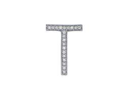 925 Silver Diamond Belt Buckle