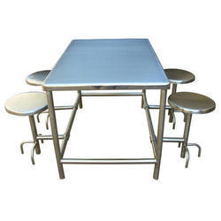 Mild Steel 4 Seater Table