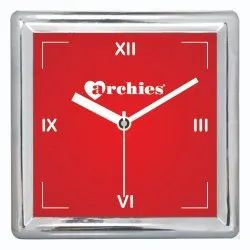 Promotional Square Table Clock