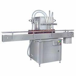 Automatic Linear Bottle Filling Machine