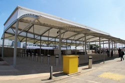 PVC Coated Tensile Membrane Structures