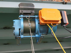 Single Phase Electric Wire Rope Hoist
