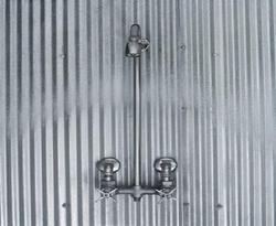Galvanized Sheet Toilet Door