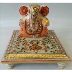 Marble Chowki Ganesh